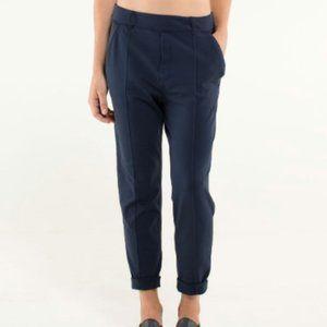 Lululemon Trouser Pant Navy Size 4 Luon Track Gym